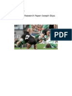 Rugby Research Paper