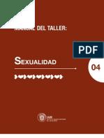 Taller Sexualidad