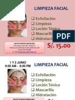 campaña limpieza facial
