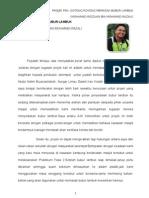 Refleksi Ridzuan Projek Bubur Lambuk