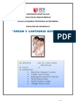 Apego y Lactancia Materna (Monografia)