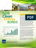 ADB Clean Energy Bonds 2013