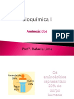 Bioqu-¦ímica I - Amino-¦ácidos e prote-¦ínas