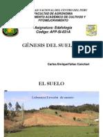 1 Génesis del suelo