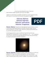 Tipos de galaxias
