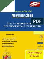 WWW.ANÁLISIS DEL PROYECTO DEL CÓDIGO DE ÉTICA DEL ABOGADO..........