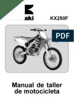 SM KX250T7F Spanish eBook