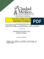 PDDU Gustavo a. Madero