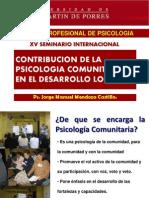 Contribución de la Psicología Comunitaria.ppt