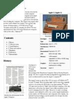 Apple I - Wikipedia, The Free Encyclopedia