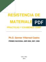 libro resistencia de materiales ii (prácticas y exámenes usmp).pdf