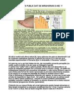 RASPUNS PUBLIC DAT DE MIRAHORIAN