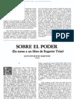 Sobre El Poder - Gustavo Bueno - Bas10116