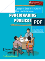 ANÁLISI DE ARÍTÍCULOS DEL CODIGO DE ETICA DEL FUNCIONARIO PÚBLICO Y SU REGLAMENTO
