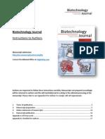 Biotecnology Journal