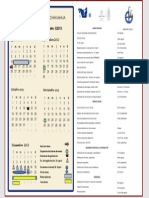 Calendario Basico de Semestre II 20131
