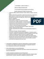 Cuestionario Derecho Laboral II