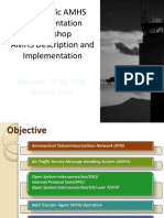 AsiaPacific AMHS Implementation Workshop