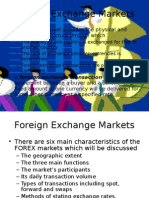 Chapter 1 Spot Exchange Market