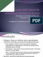 A Construção Social da orientação Sexual na Escola