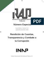 Rendición de Cuentas Transparencia y Combate a la Corrupción