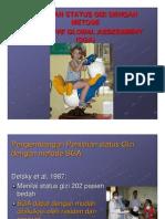 Sga Subjective Global Assessment