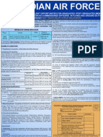 Indian Air Force - Commissioned Officers in Flying and Ground Duty Recruitment