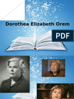 Edited Orem Nursing Theory