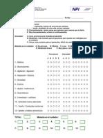 MEDICINA_NPI - Inventario Neuropsiquiátrico