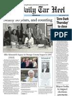 The Daily Tar Heel for September 10, 2013