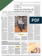 Entrevista El Comercio
