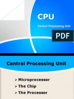 08. Central Processing Unit (CPU)