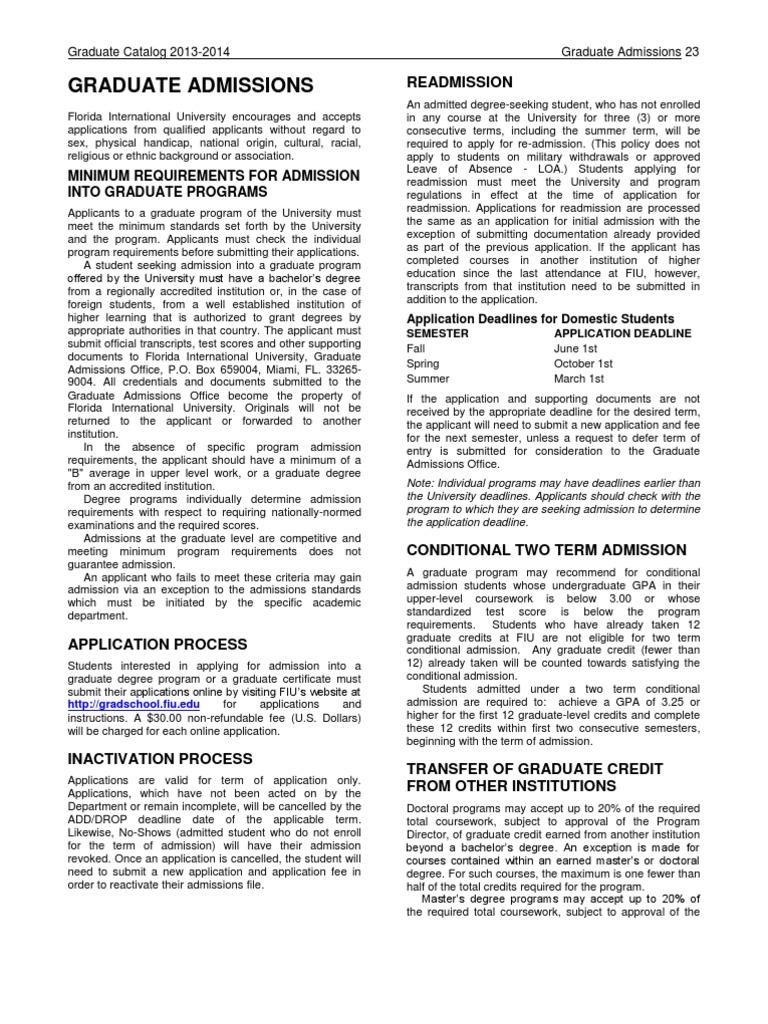 Graduate admissions fiu university and college admission graduate admissions fiu university and college admission graduate school 1betcityfo Gallery