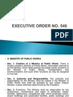 exe order 546