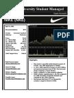 Nike, Inc. Strategic Plan