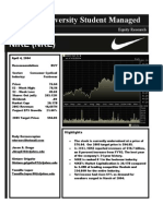 Nike, Inc. Strategic Plan