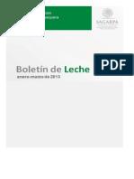 Boletin de Leche 2013