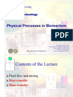 Lecture 4 - Physical Bioprocesses 2