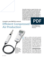 CompAir Uses DM70 to Ensure Efficient Compressed Air Production