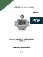 Manual Basico Inteligencia Militar