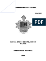 Manual Basico Inteligencia Militar
