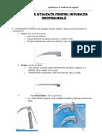 21cap.15 Materiale Utilizate Pentru Intubatia Orotraheala