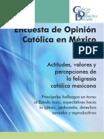 Encuestadeopinion de Feligreses Catolico