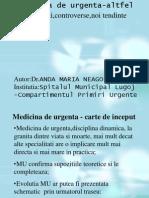 Medicina de Urgenta Altfel - Dr. Neagoe