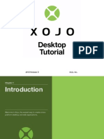 Xojo Desktop App Tutorial