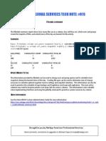Netapp Tech Note 015 - Filestats