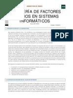 Ingenieria de Factores Humanos en Sistemas Informaticos
