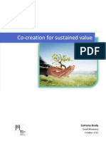 Co-Creation for Sustained Value