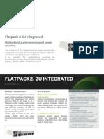 Datasheet Flatpack2 2U Integrated