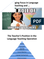 Variables in Language Teaching_ the Role of the Teacher